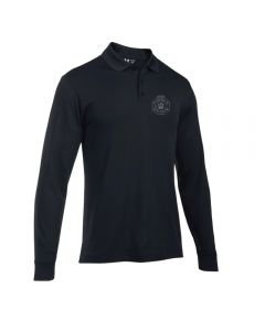 UA L/S Black Polo