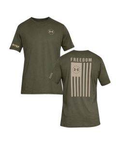UA Green Tee w/ Flag
