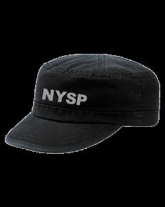 248-BLACK MILITARY HAT