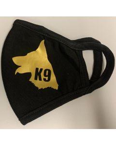K9 facemask (Gold)