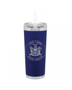 Matte Navy Double Wall Stainless Steel Thermal Tumbler