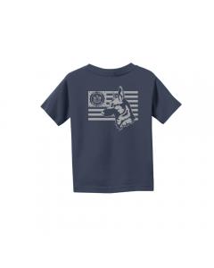 Navy Toddler & Youth K¬9 Tee
