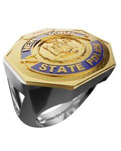 Women's New York State Police Ring